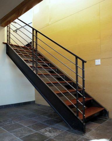 2019现代外景装修效果图大全 2019现代楼梯装修效果图片