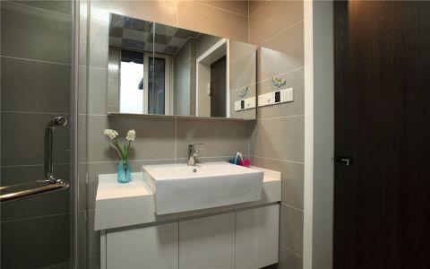 路劲铂隽140平米两室现代简约风格装修效果图