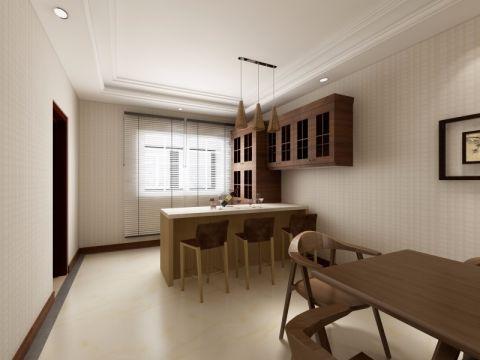 餐厅吧台中式风格装饰设计图片
