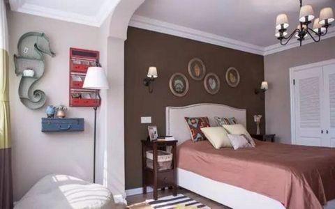 壹城逸境135平美式风格三居室装修效果图