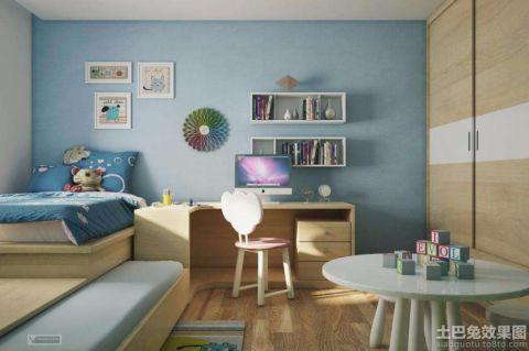 儿童房细节新中式风格装潢设计图片