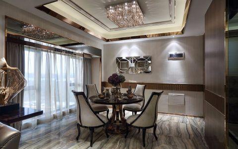 餐厅窗帘现代风格装修设计图片