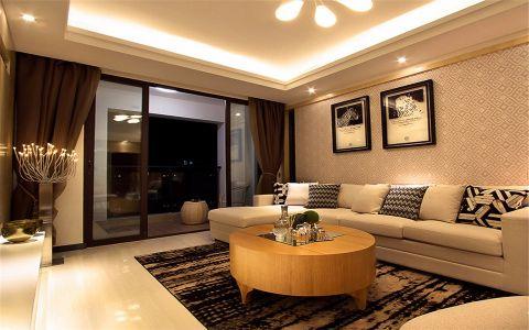 梧桐香郡140平米现代简约风格三室装修效果图