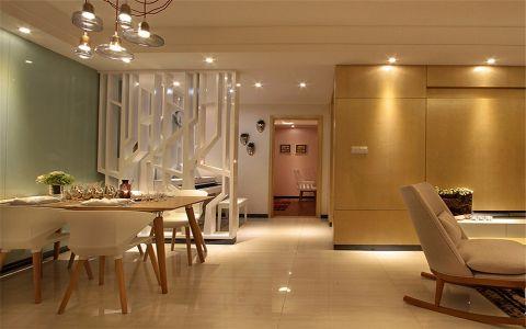 餐厅吊顶现代简约风格装修效果图
