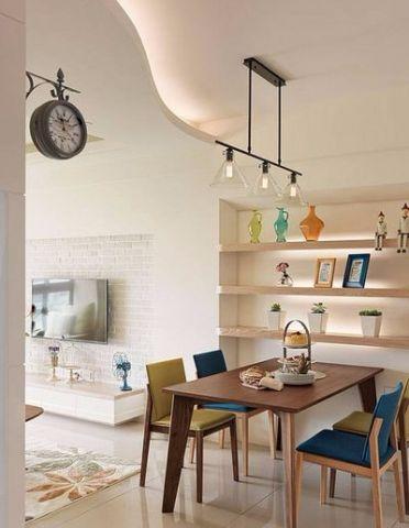 餐厅橱柜北欧风格装修图片
