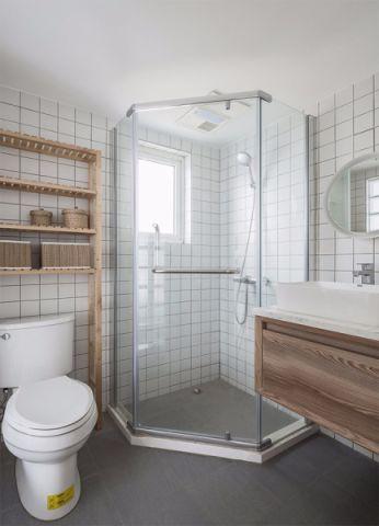 卫生间隔断北欧风格装修设计图片