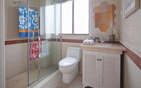 卫生间洗漱台地中海风格装潢效果图