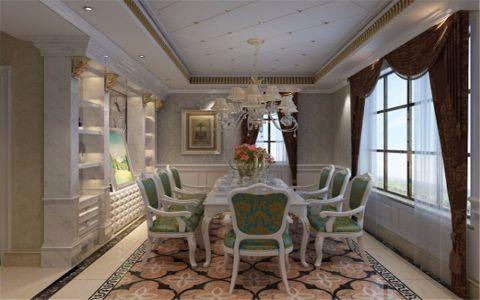 餐厅吊顶法式风格装饰设计图片