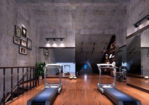 健身房新中式风格装饰设计图片