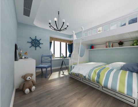 儿童房榻榻米现代简约风格装潢效果图