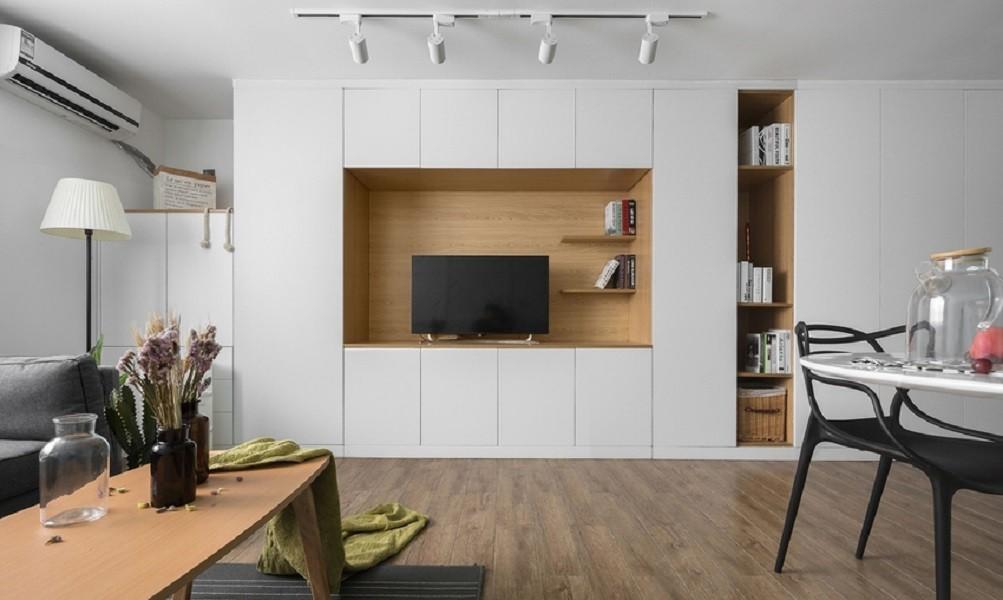 2室1卫1厅78平米北欧风格