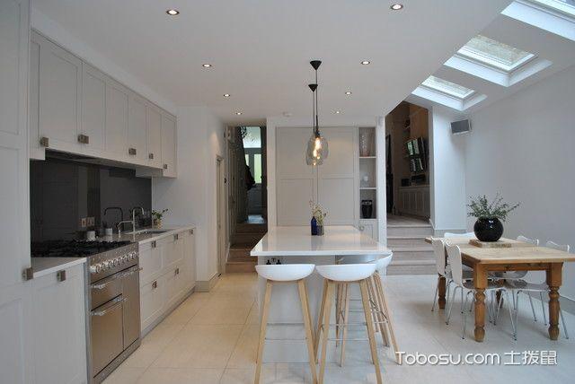 厨房米色吊顶现代风格装饰效果图