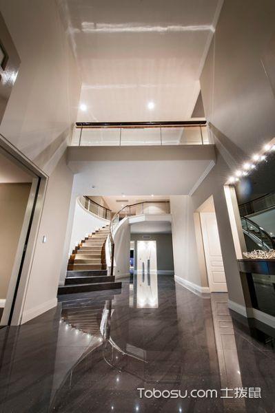客厅咖啡色吊顶现代风格装潢设计图片