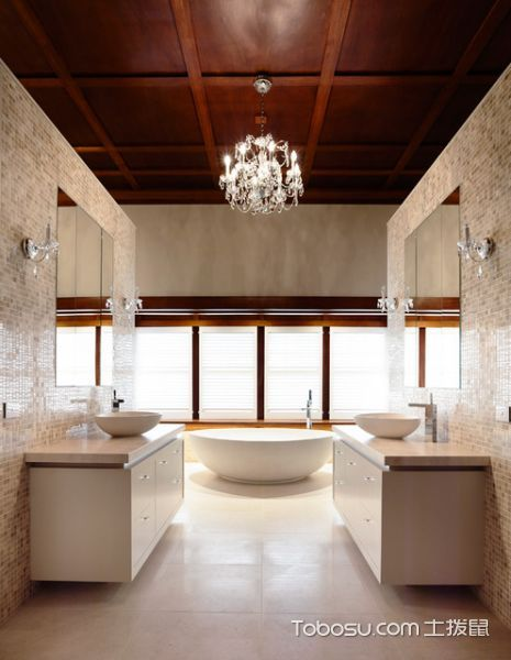 2021美式300平米以上装修效果图片 2021美式二居室装修设计