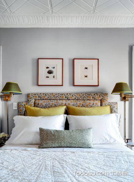 2020简欧卧室装修设计图片 2020简欧床装修效果图片