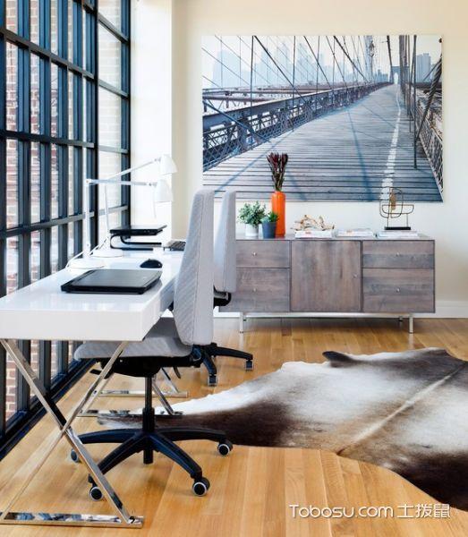 书房 书桌_大户型188平米现代风格装修图片