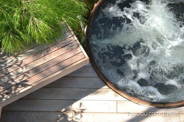 阳台咖啡色地板砖现代风格装修效果图