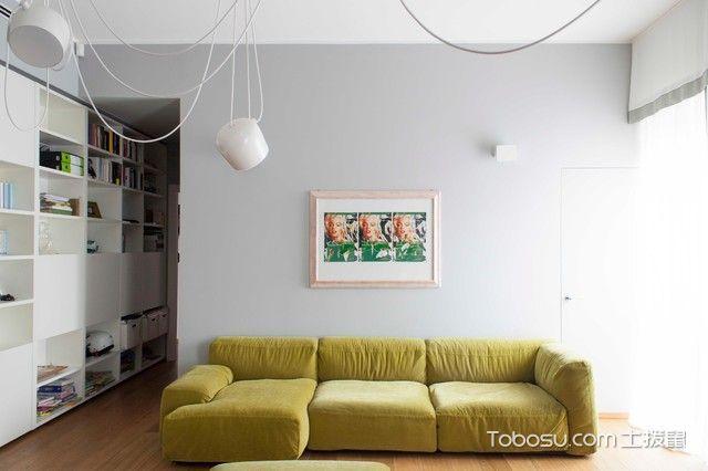 客厅现代风格装潢设计图片_土拨鼠装修效果图