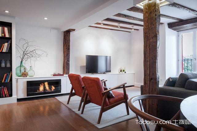 70㎡/现代/一居室装修设计