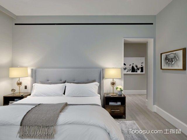 卧室白色榻榻米现代风格效果图
