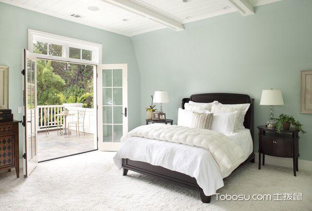 卧室白色榻榻米简欧风格装修设计图片