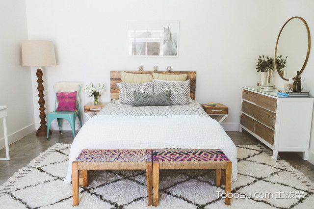 卧室白色榻榻米混搭风格装潢设计图片