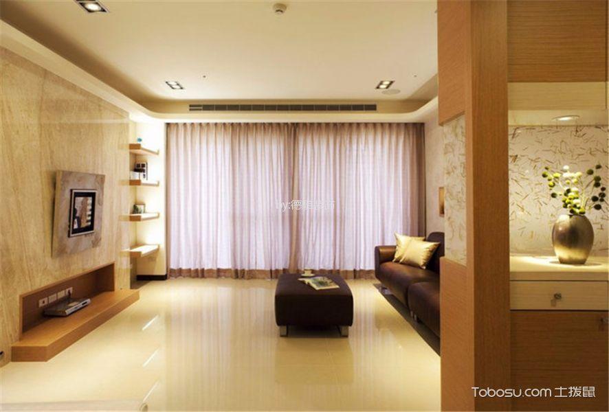 保利香槟国际141㎡现代简约风格四居室装修效果图