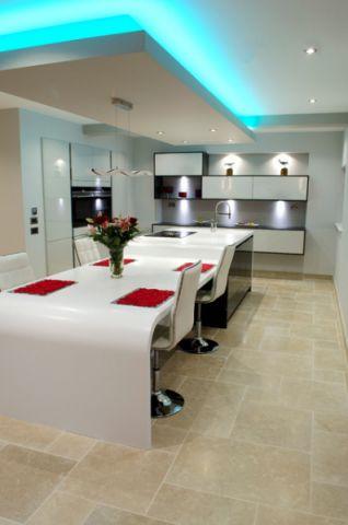 厨房餐桌现代风格装饰效果图