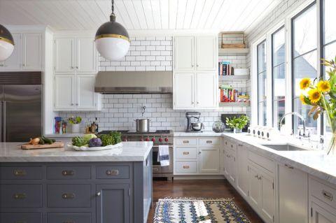 品质生活现代风格厨房装修效果图_土拨鼠2017装修图片大全