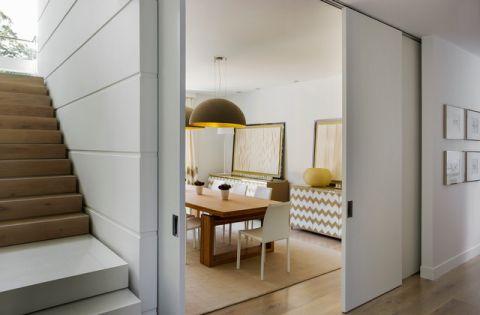餐厅门厅现代风格装饰设计图片