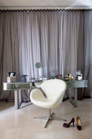 卧室梳妆台现代风格装潢图片