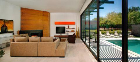 客厅橱柜现代风格装饰设计图片