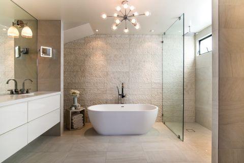 特立独行现代风格浴室装修效果图_土拨鼠2017装修图片大全