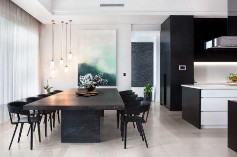 两室一厅现代风格餐厅装修效果图大全2017图片_土拨鼠装修效果图