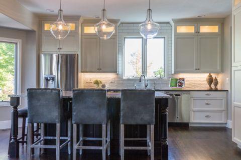 厨房餐桌现代风格效果图