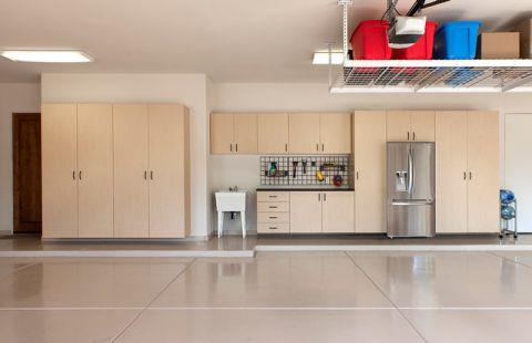 车库橱柜现代风格装饰图片