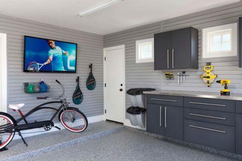 车库橱柜现代风格装潢图片