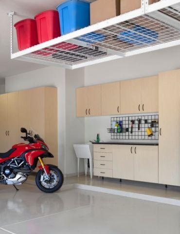 车库橱柜现代风格装修设计图片