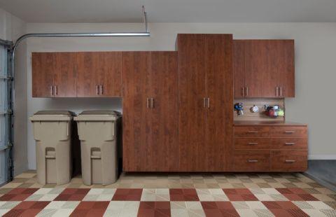 车库橱柜现代风格装饰设计图片