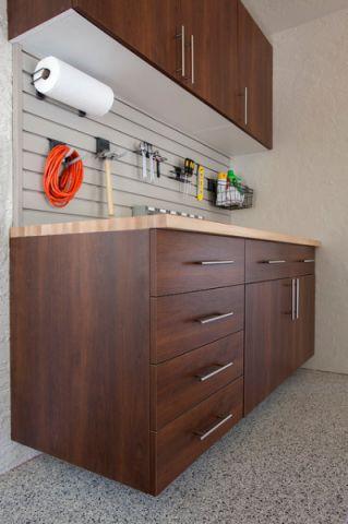 车库橱柜现代风格装饰效果图