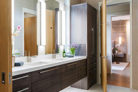 卫生间推拉门现代风格装潢图片