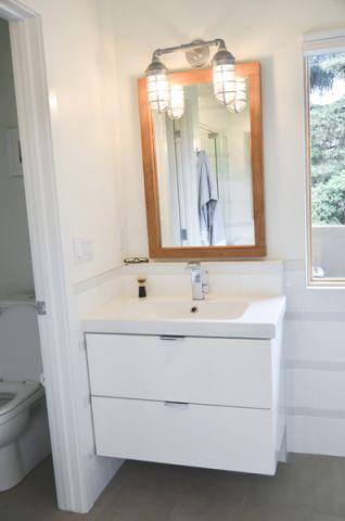卫生间吧台现代风格装潢效果图