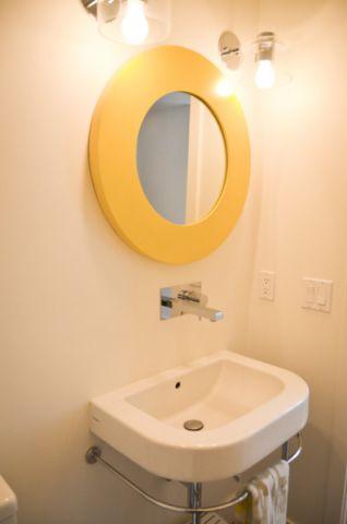 卫生间背景墙现代风格装修图片
