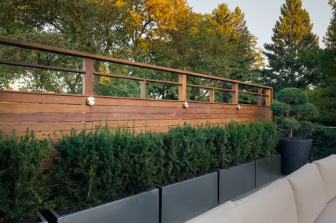 阳台外墙现代风格效果图