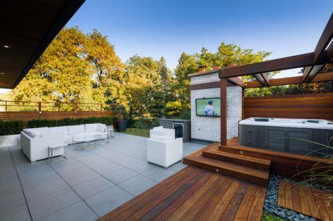 阳台细节现代风格装潢效果图