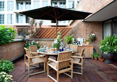 阳台细节现代风格装修图片