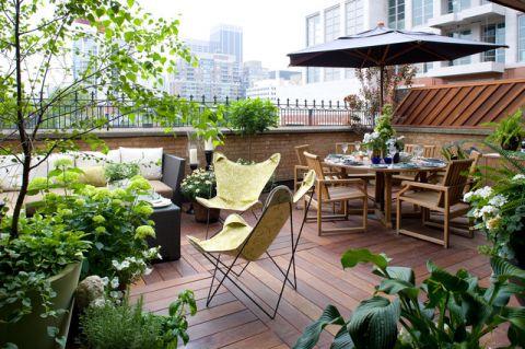 阳台细节现代风格装饰图片