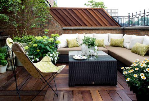阳台细节现代风格装修设计图片