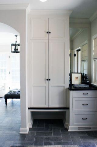 卫生间橱柜美式风格装修图片