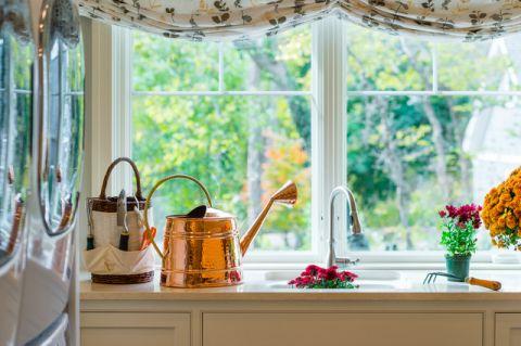 厨房窗台美式风格装修设计图片